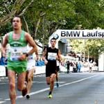 Aufblasbarer Torbogen beim BMW Marathon