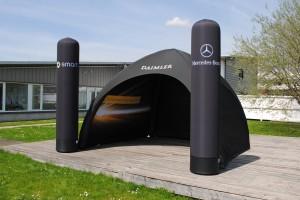 PneumatischesZelt-4x4m-Daimler